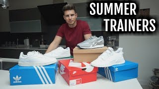 Mens Summer Trainer Haul | Unboxing & Try-On (Adidas, Nike, Puma & Reebok)