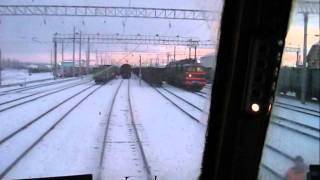 Электровоз ВЛ80С, ст. Обозерская (ч.2)