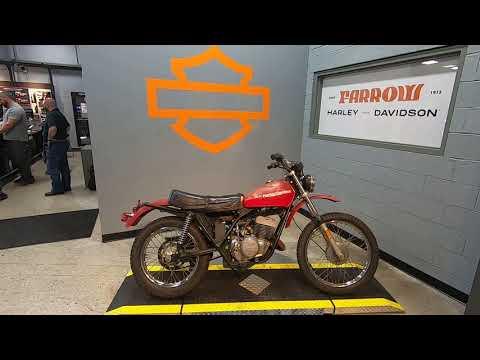 1978 Harley-Davidson AMF 250