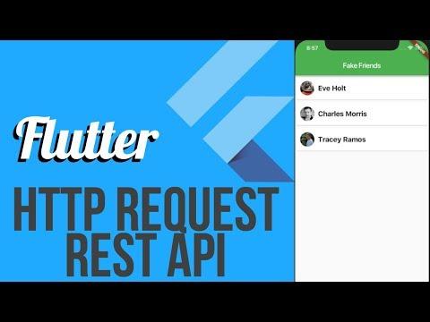 FutureBuilder In Flutter - Building Lists with JSON Data - смотреть