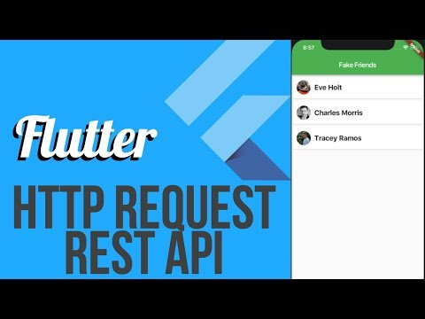 Flutter - How to make an Http Request, decode the Response in JSON and Show it in a ListView