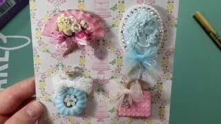 Teeny Tiny Embellishment Swap ~ Shabby Group #2 ~ Hosted By Scrapdaworld