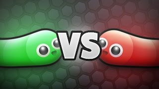 NOOB vs. PRO - SLITHER.IO