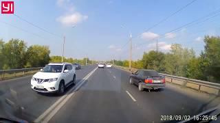 Массовое ДТП 02.09.2018 авария Самара Южное шоссе