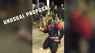 Alabama man's unusual proposal involving Mobile Police officers goes viral