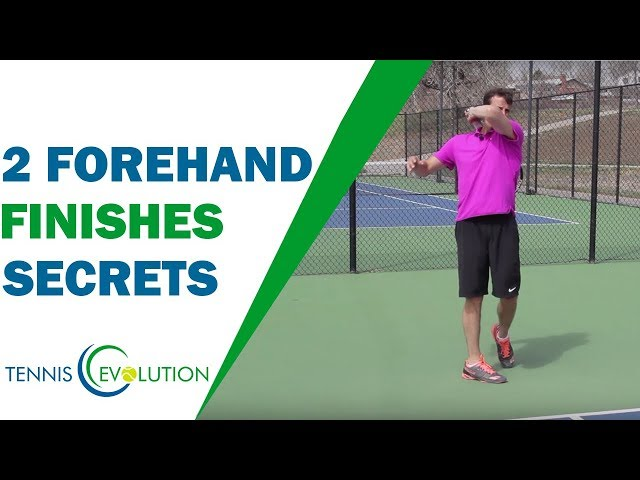 2 Forehand Finishes Secrets (How To Do It) | TENNIS FOREHAND