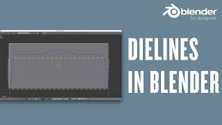 Getting Die Lines into Blender –Blender for Packaging Design Quick Tip