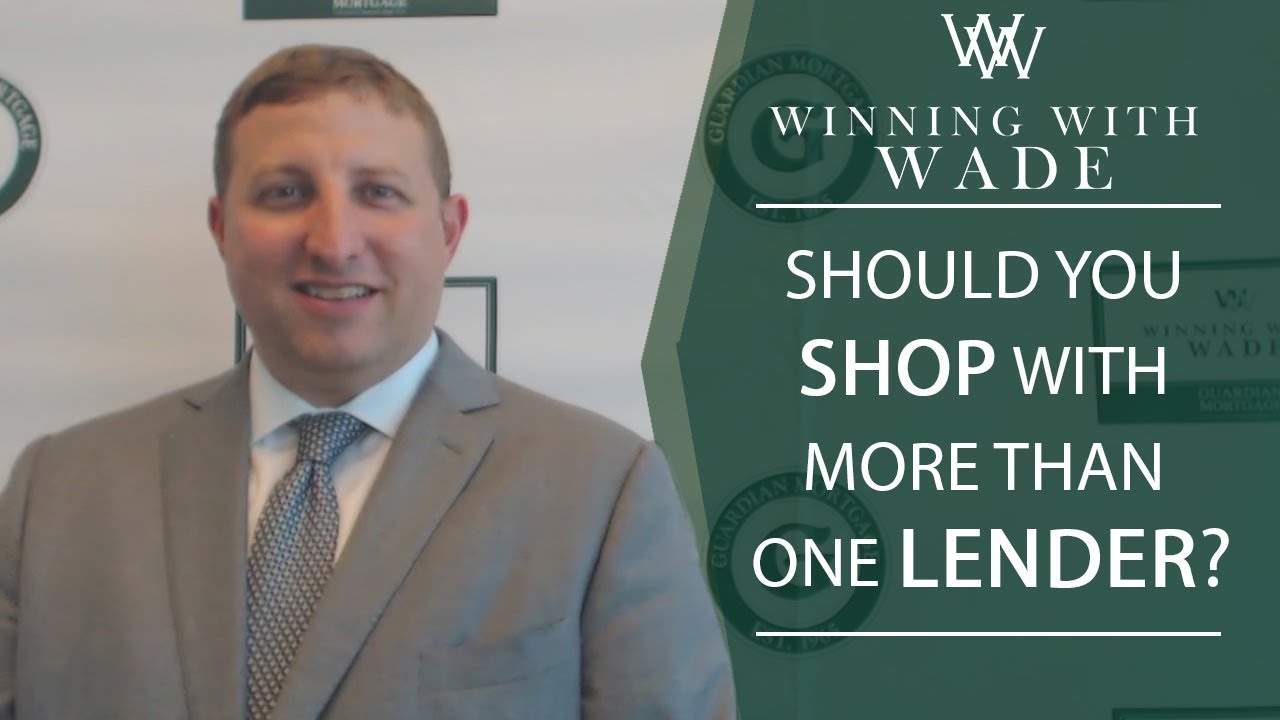 Is Shopping With Multiple Lenders a Bad Idea?
