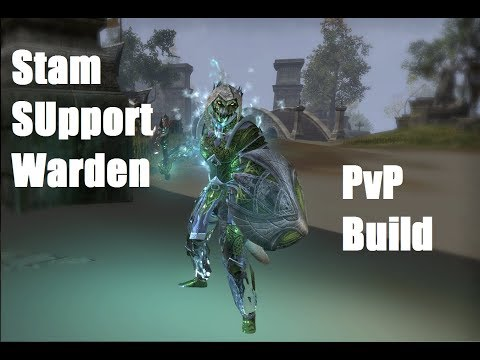Video Guide] PvP Stamina Warden Support Build - The Psychotherapist