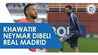 Sang Mega Bintang Barcelona Lionel Messi Khawatir Bila Neymar Dibeli Real Madrid