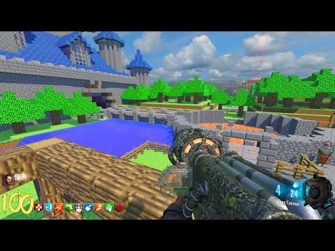 Minecraft Walkthrough - BLACK OPS 3 ZOMBIES - BEST CUSTOM ZOMBIES ...