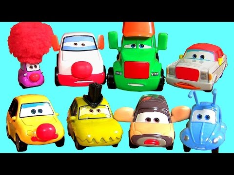 Disney Pixar Circus Cars Super Chase Complete Diecast Collection Mattel Radiator Springs Bug's Life