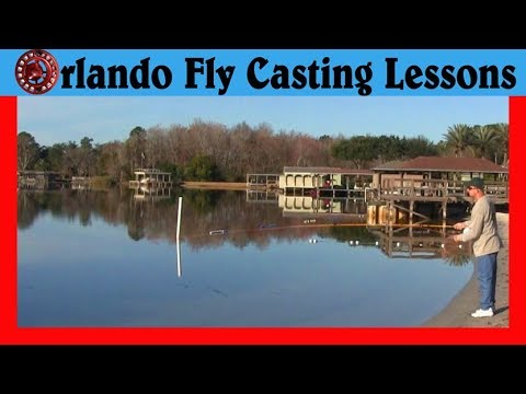Fly Casting - The Water Pickup