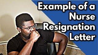 Examples of a Nurse Resignation Letter (Guide + Template)