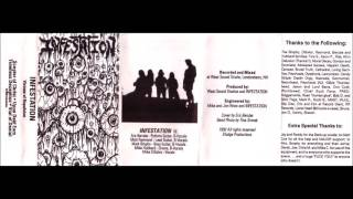 INFESTATION (USA/MA)- Visions Of Repulsion Demo 1992 [FULL DEMO]