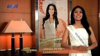 Adinda Putri for Miss Indonesia 2015
