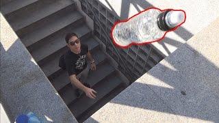 RETO DE LA BOTELLA DE AGUA EXTREMO 3 |  Water Bottle Flip Challenge