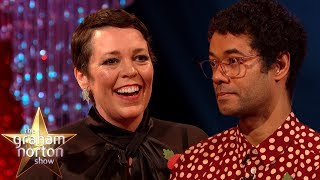 Richard Ayoade talks about his new book & Olivia Colman is all here for it.   #GrahamNortonShow #GrahamNorton  Subscribe for weekly updates: http://www.youtube.com/subscription_center?add_user=officialgrahamnorton