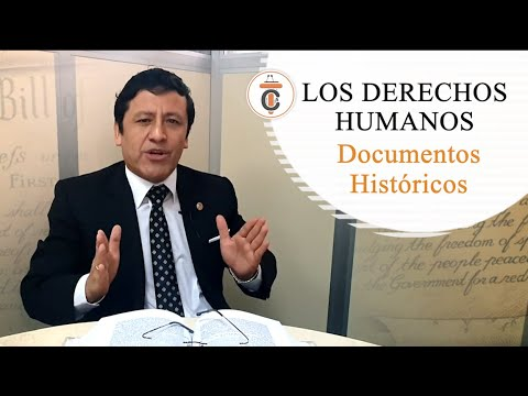 DERECHOS HUMANOS: DOCUMENTOS HISTÓRICOS - TC170