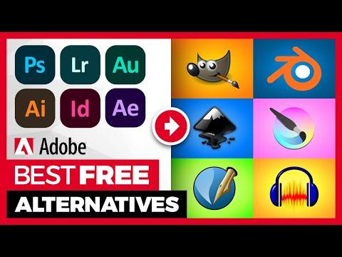 Best Free Alternatives To Adobe Creative Suite