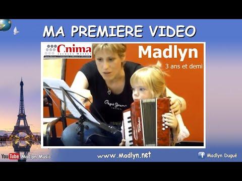 MADLYN Accordéon enfant - Child accordion