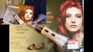 Functional check- GRUNDIG  Profi  Hairstyler HS 8980