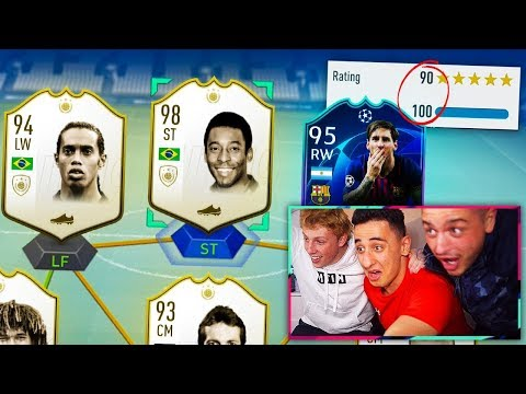 I GOT PELE!!! HIGHEST RATED FUT DRAFT OF ALL TIME!! w/ ANESONGIB! - FIFA 19