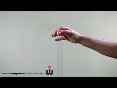 Richtig Kondom verwenden - mit einer Hand