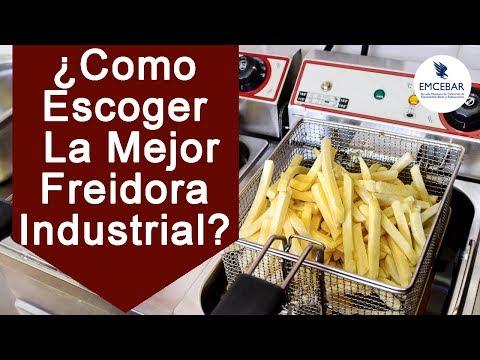 ¿Como Escoger La Mejor Freidora Industrial?