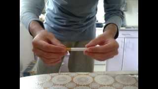 Бесплатное обучение фокусам - фокусы с сигаретой.