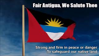 Antigua and Barbuda National Anthem (Fair Antigua, We Salute Thee) - Nightcore Style + Lyrics