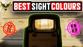 These Are The BEST NEW Sight Colours And ADS Sensitivities - Rainbow Six Siege
