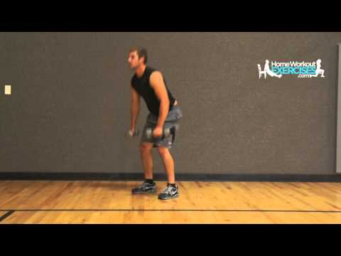 Burpee Dumbell Deadlift Demonstration