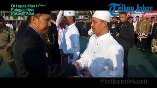 Di Lapas Klas I Cirebon, Petugas Upacara Kenakan Pakaian Adat Jawa dan Sunda