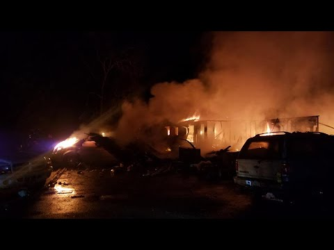 Firefighters called out to Merlin home explosion, neighbors speak out