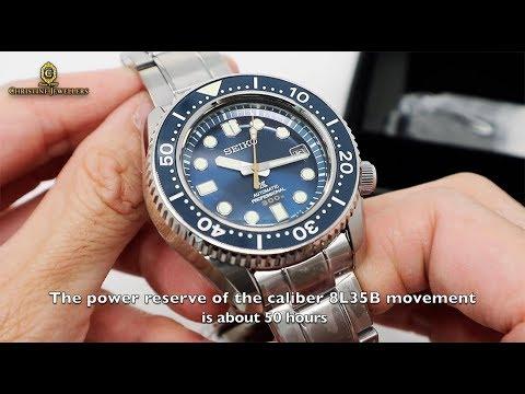 Seiko Prospex Marinemaster Diver Ceramic Bezel Sla023j1