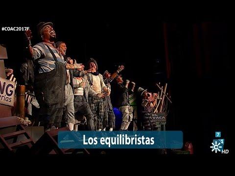 Los equilibristas comparsa final coac 2017 falla de for Cuartos de final carnaval 2017