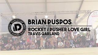 "Brian Puspos - ""ROCKET // PUSHER LOVE GIRL by Travis Garland"" - iDancecamp 2014"