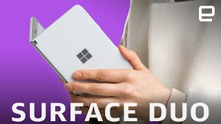 Microsoft Surface Duo drops in September for $1399