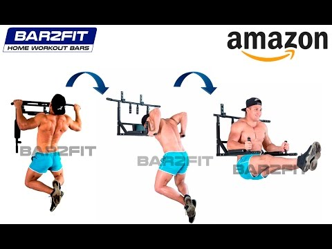 Barra trazioni e parallele a muro - fino 200 kg - workout crossfit fitness