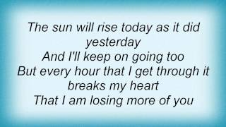Dido - Loveless Hearts Lyrics