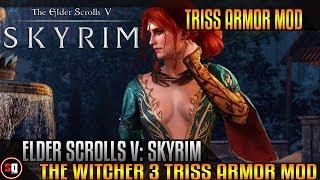 Skyrim Mod - The Witcher 3 Triss Armor