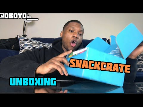 SNACK CRATE UNBOXING | DBOYD TASTE TEST