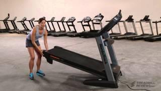 How to Fold up a Treadmill