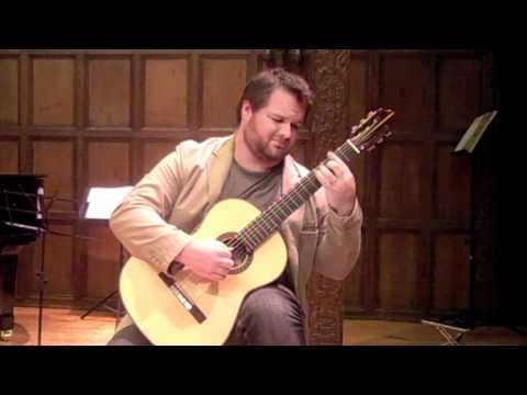 "Christopher Gotzen-Berg plays ""Tango"" by isaac Albéniz"