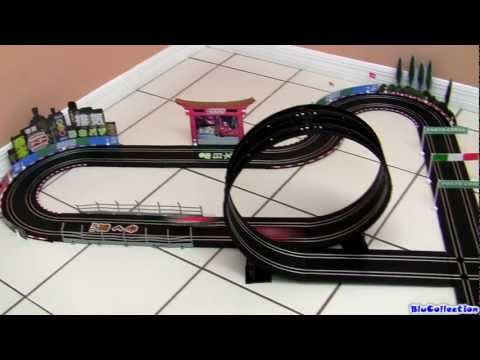 CARRERA GO CARS2 Race Around the World Speedway Track Disney Lightning McQueen Slot cars