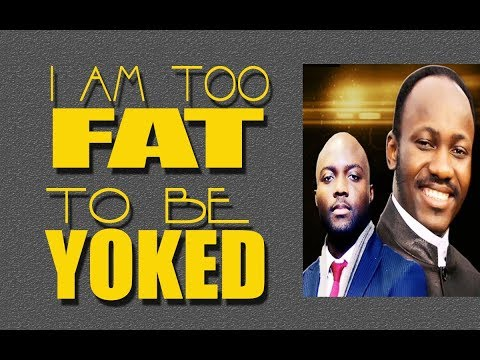 I AM TOO FAT FOR THIS...  - Apostle Johnson Suleman - Pastor Rich Aghahowa - 03/25/2018