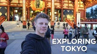 BEING A TOURIST IN TOKYO - Bas Hollander - Vlog 99