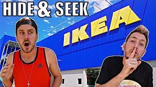 HIDE N SEEK IN IKEA!