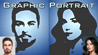 Photoshop: How To Create Graphic Portraits From Photos